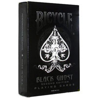 Колода карт Bicycle Black Ghost 2nd Edition Decks by Ellusionist