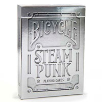 Колода карт Bicycle Steampunk Silver Theory11