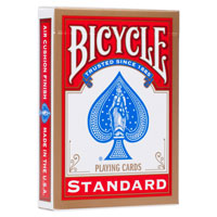 Карта дубликат Bicycle Standard red