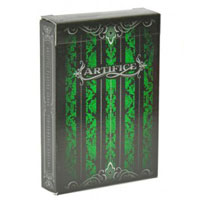 Колода карт Artifice Emerald Green Ellusionist